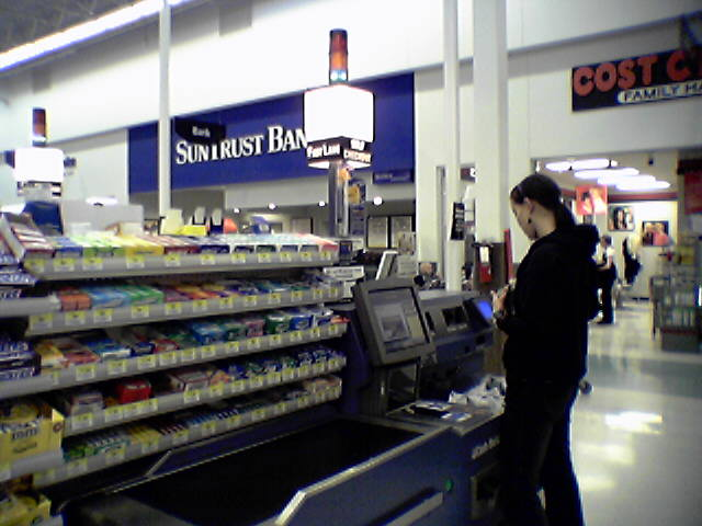 WalMart Self Check Out Service